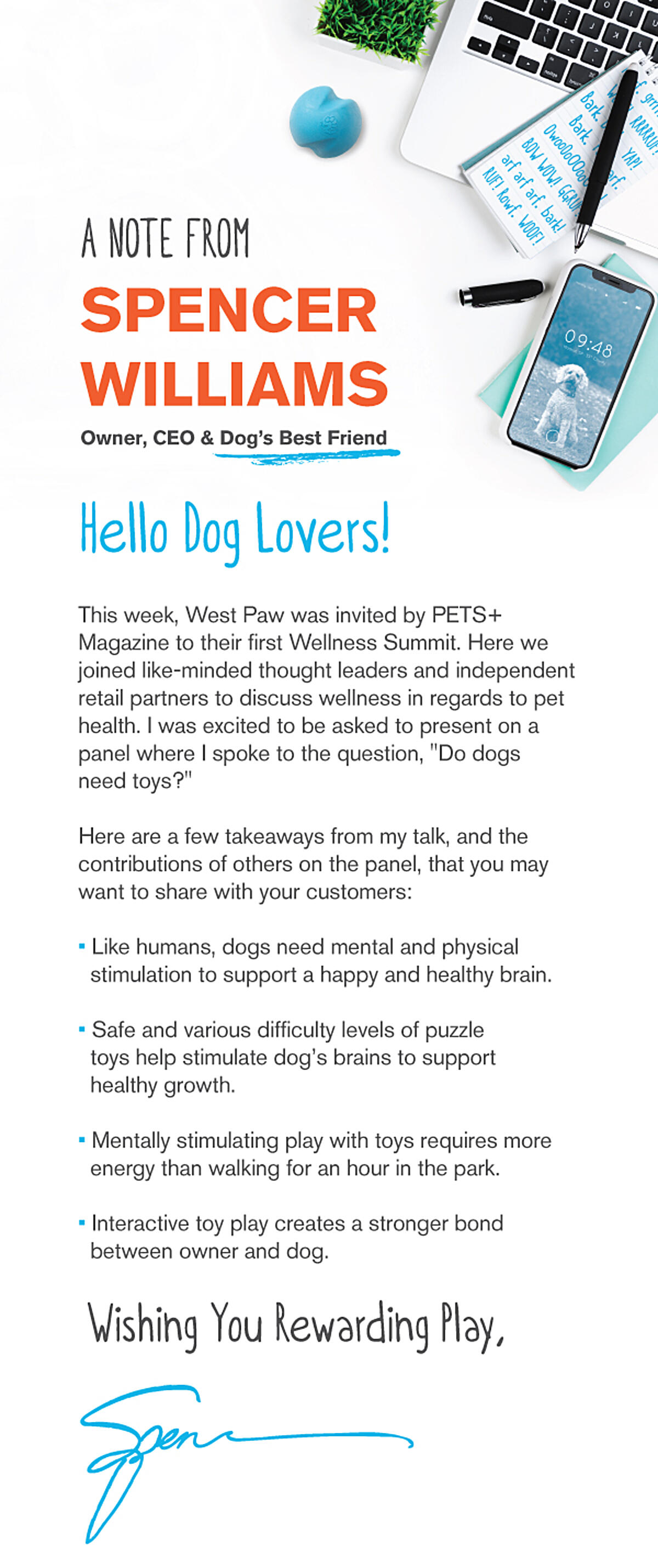 PetSummitNoteFromSpencer_RTLR